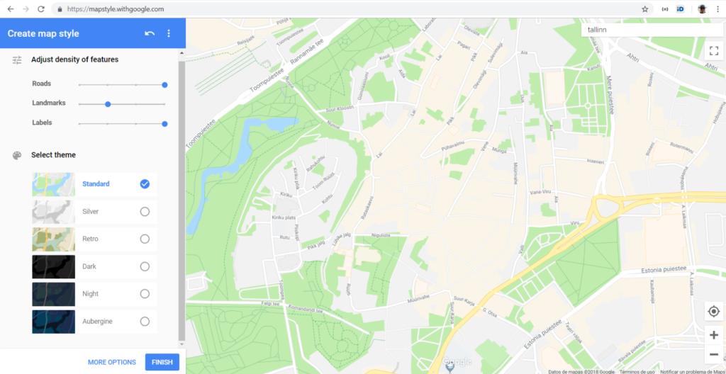Custom Google Maps - Loquiz outdoor game platform