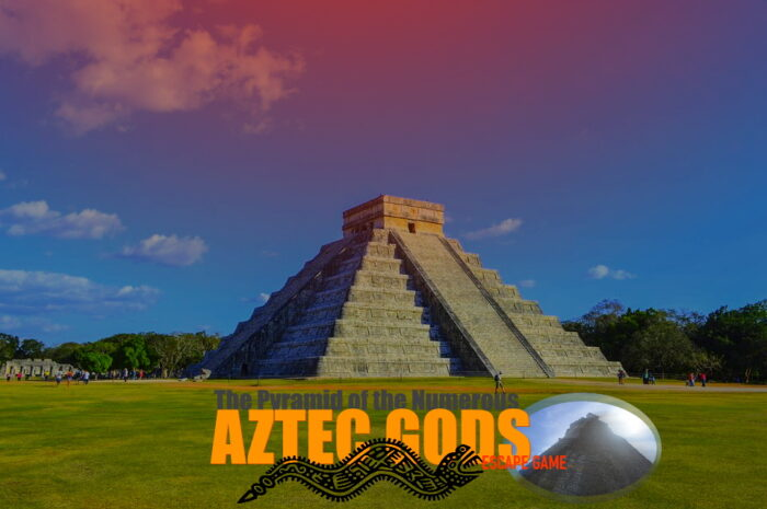 An idea of Virtual Escape room : The Pyramid of the numerous Aztec Gods