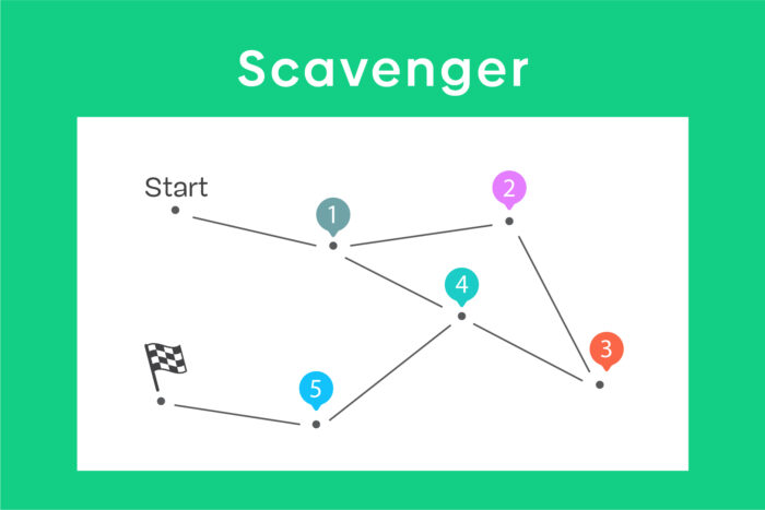 Scavenger-game