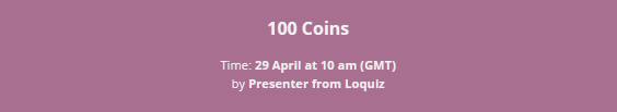 100 coins game from the games market