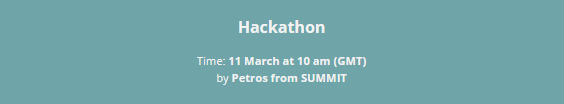 Hackaton game concept on the games market