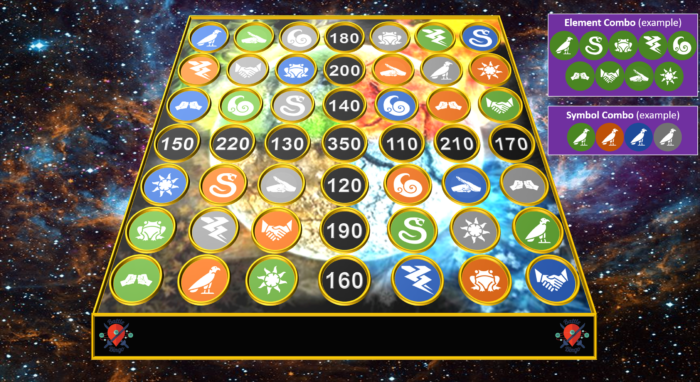 Bingo Battle online, a good example of hybrid team building game