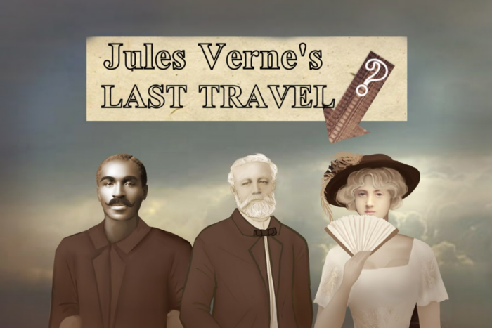 Jules Verne's Last Travel: 3 characters