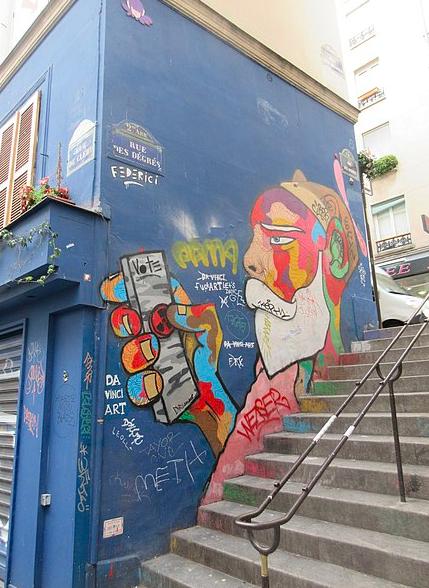 The shortest street of Paris