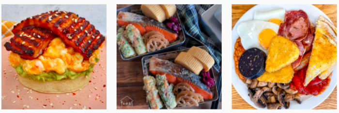 Instagram dish food