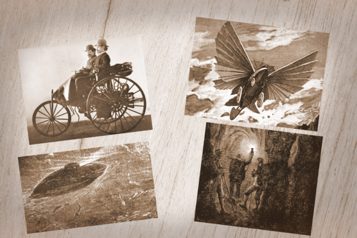 Jules Verne's last travel